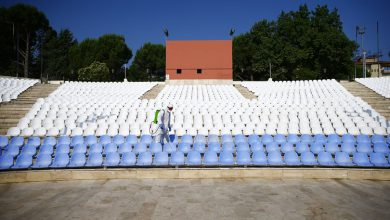 Photo of Denizli'de Açık Hava Tiyatrosu dezenfekte edildi