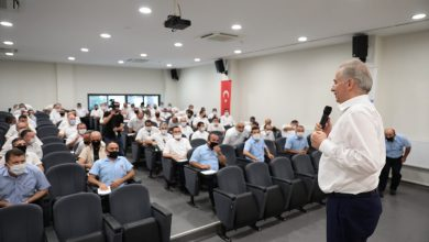 Photo of Denizli'de Başkan Zolan, otobüs şoförleri ile bir araya geldi