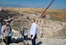 Photo of 2200 yıl önce yapılan Batı Tiyatrosu'nun restorasyonu tamamlanacak