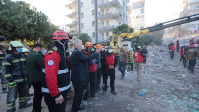 Photo of Başkan Zolan deprem bölgesinde